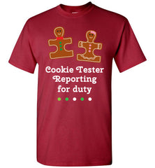 Christmas Holiday Ginger Puzzle Cookie T Shirt