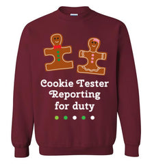 Christmas Holiday Ginger Puzzle Cookie Sweatshirt