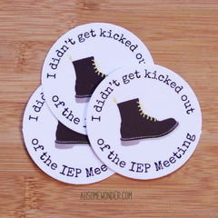 Funny IEP Meeting Sticker