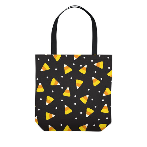 Halloween Candy Corn Tote Trick or Treat Bag