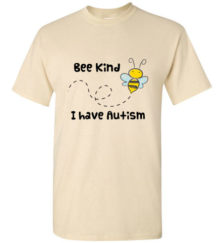Bee Kind Autism Awareness Soft T Shirt