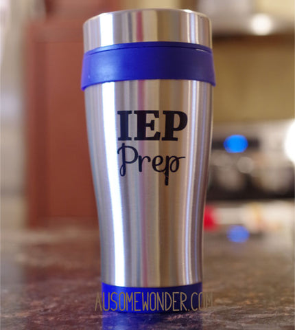 IEP Prep Stainless Steel Travel Mug