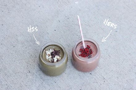 His & Hers Smoothie ideas