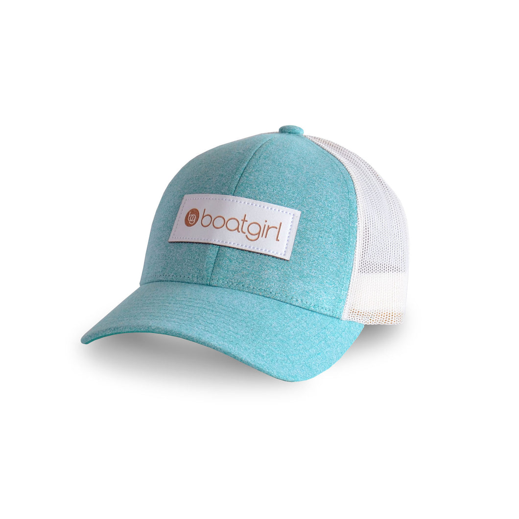 Boatgirl Boat Girl Low Pro Heather Trucker Hat Birch