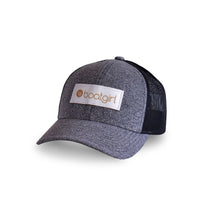 Boatgirl Boat Girl Low Pro Heather Trucker Hat Black
