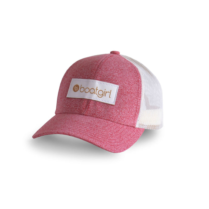 Boatgirl Boat Girl Low Pro Heather Trucker Hat Red