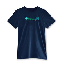 Boatgirl Boat Girl T Shirt Navy Heather