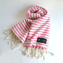 Boatgirl Boat Girl Turkish Towel Pink