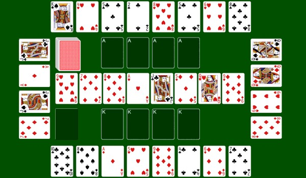 10 Builder Solitaire Card Games With Unusual Layouts