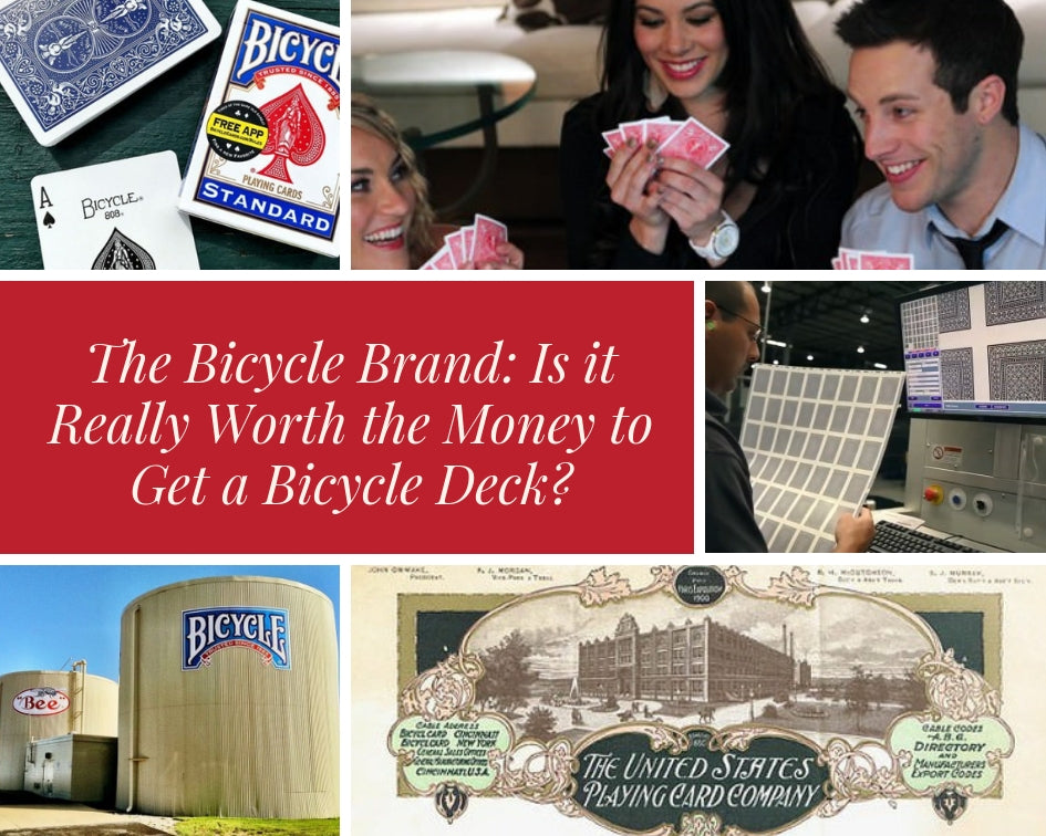 The Bicycle Brand: Is it Really Worth the Money to Get a Bicycle Deck?