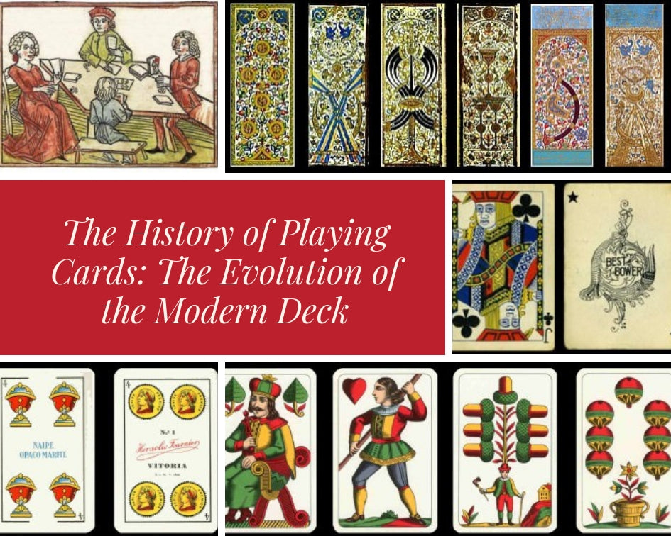 The History of Playing Cards: The Evolution of the Modern