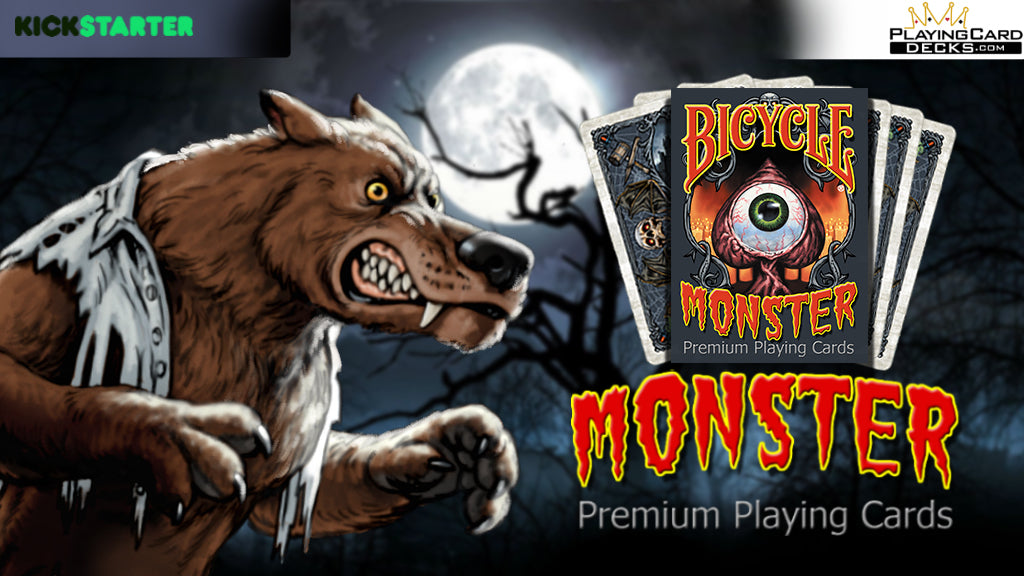 PLAYINGCARDDECKS.COM RELEASES MONSTER PLAYING CARD DECK ON KICKSTARTER