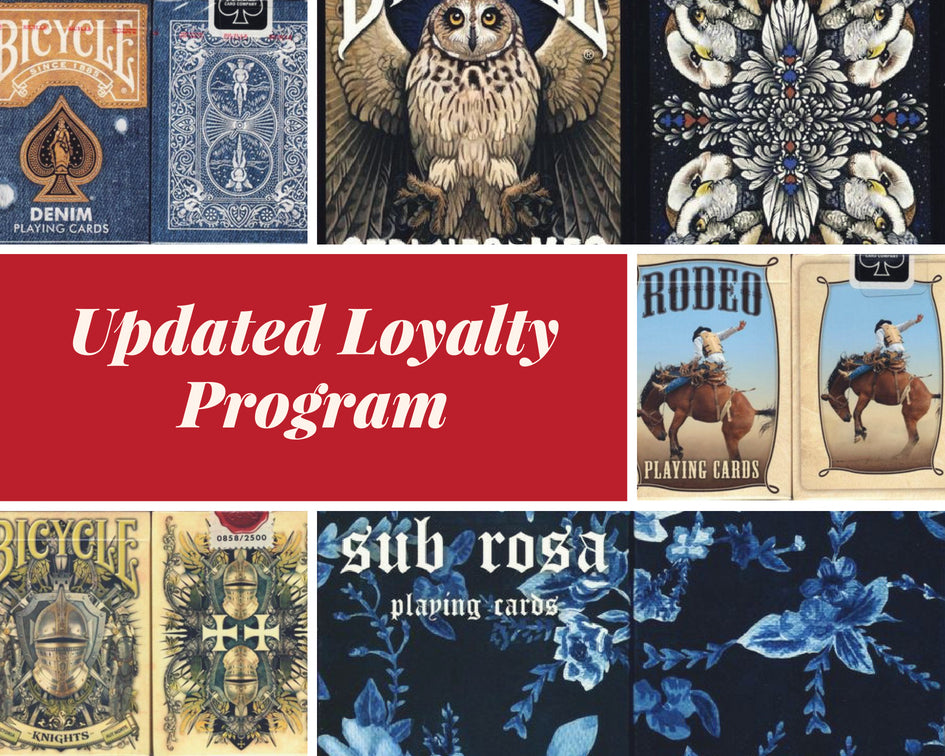 Find Out About Our Updated Loyalty Rewards Program!