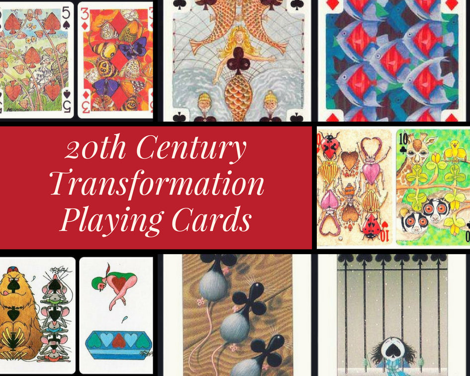 20th Century Transformation Playing Cards