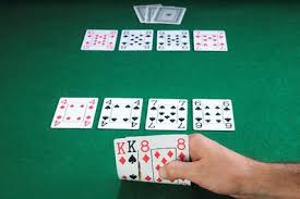 (A Seven Card Stud hand at the end of the River Round)
