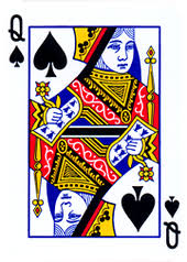 (After removing one Queen from the deck, the odd Queen out is considered the Old Maid)