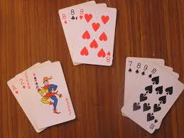 (Examples of possible melds in Rummy)