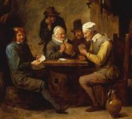 (The game of Euchre has a long history beginning in 18th century Europe)
