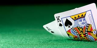 (An Ace and a King make a natural in the game of Blackjack)