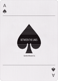 Between the Lines Playing Cards USPCC - PlayingCardDecks.com