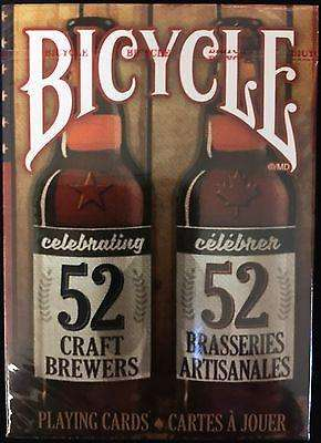 Celebrating 52 Craft Brewers Bicycle Playing Cards Deck - PlayingCardDecks.com