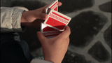 70's Racer Cardistry Playing Cards USPCC - Red