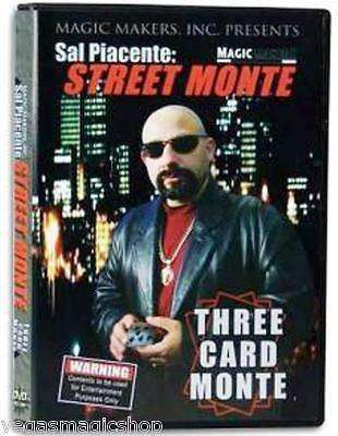 Three Card Monte DVD - Special Offer:PlayingCardDecks.com