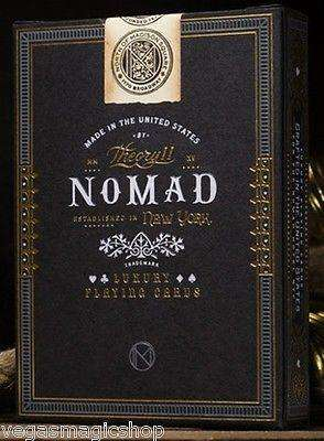NoMad Playing Cards Deck USPCC theory11:PlayingCardDecks.com