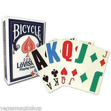 E-Z See Lo Vision Red & Blue 2 Deck Set Bicycle Playing Cards - PlayingCardDecks.com