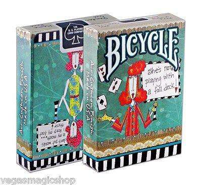Dolly Mama Bicycle Playing Cards Deck - PlayingCardDecks.com