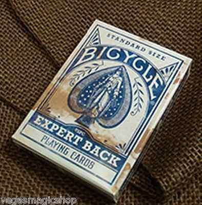 Expert Back Blue Bicycle Playing Cards Deck - PlayingCardDecks.com