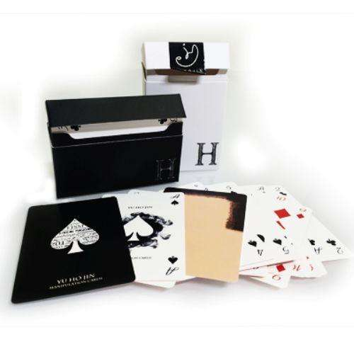 Yu Hojin White Manipulation Cards Deck:PlayingCardDecks.com