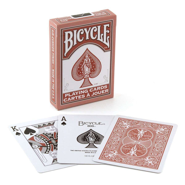 Marsala Bicycle Playing Cards Deck:PlayingCardDecks.com