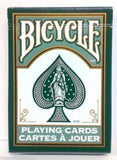 Fashion Dark Green Bicycle Playing Cards Deck - PlayingCardDecks.com
