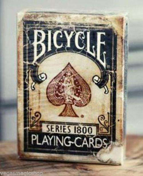 1800 Vintage Blue Bicycle Playing Cards Deck - PlayingCardDecks.com