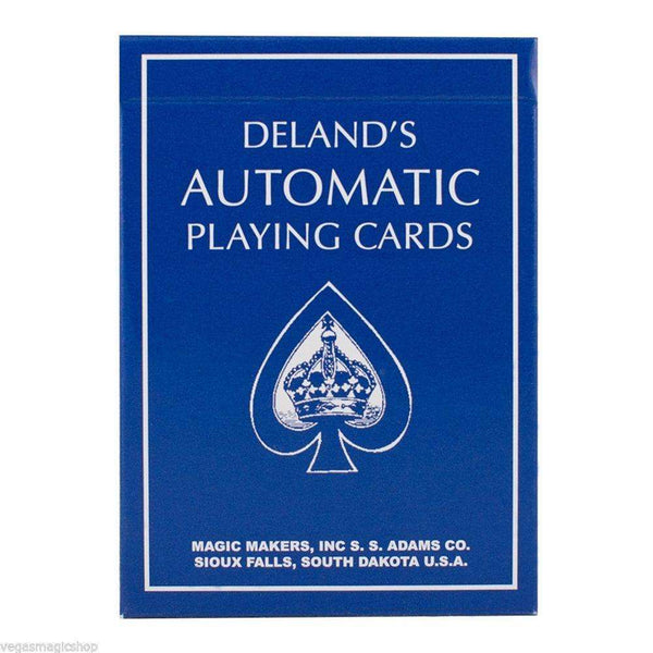 Blue Deland's Automatic Playing Cards Deck - PlayingCardDecks.com