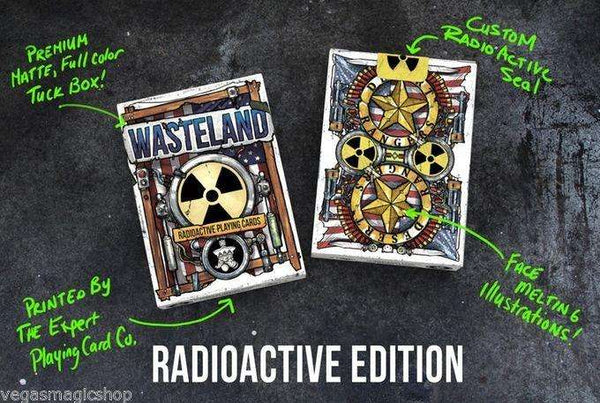 Wasteland Radioactive Playing Cards Deck LPCC:PlayingCardDecks.com