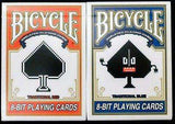 8-Bit Traditional 2 Deck Set Pixelated Bicycle Playing Cards - PlayingCardDecks.com