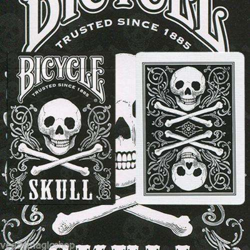 Skull Back Bicycle Playing Cards Deck:PlayingCardDecks.com