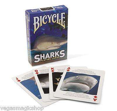 Sharks Bicycle Playing Cards Deck:PlayingCardDecks.com