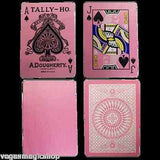 Pink Tally-Ho Reverse Circle Back Playing Cards Deck:PlayingCardDecks.com