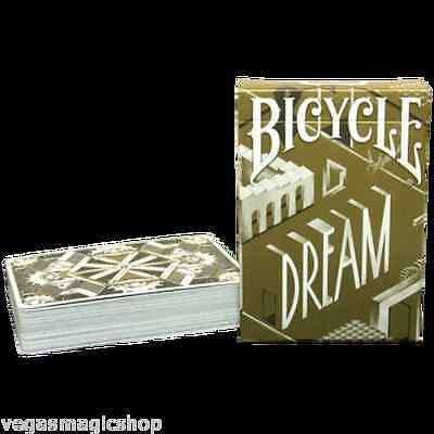 Dream Gold Bicycle Playing Cards Deck - PlayingCardDecks.com