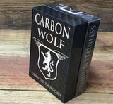 Carbon Fiber Wolf Playing Cards