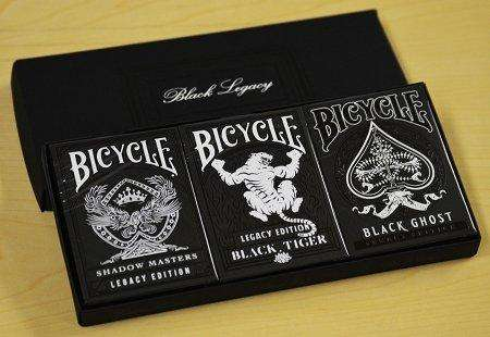 Black Legacy Box Set USPCC - PlayingCardDecks.com