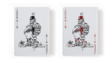 Titans Robber Barons Playing Cards LPCC - Black & Blue:PlayingCardDecks.com