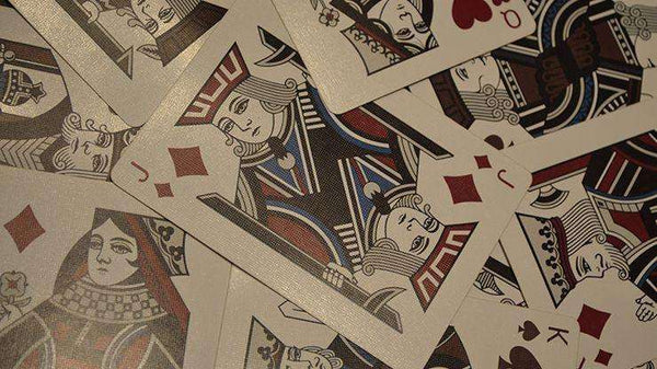New Sealed Mantecore Deck Playing Cards Poker Size LPCC Tiger Custom Limited Ed