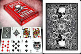 Karnival Death Heads Carnage Edition Bicycle Playing Cards Deck:PlayingCardDecks.com
