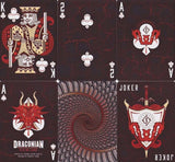 Draconian Brimstone Playing Cards Deck - PlayingCardDecks.com