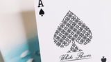 White Flower Playing Cards USPCC:PlayingCardDecks.com