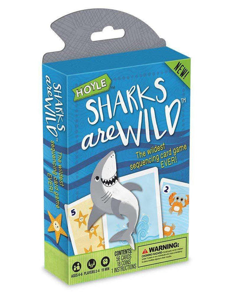 Sharks are Wild Playing Cards Hoyle - PlayingCardDecks.com
